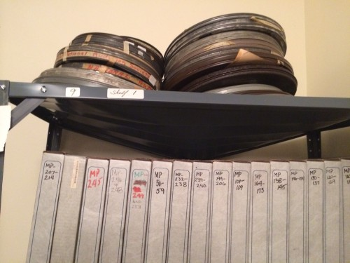 Reels of Roger Tory Peterson movies.