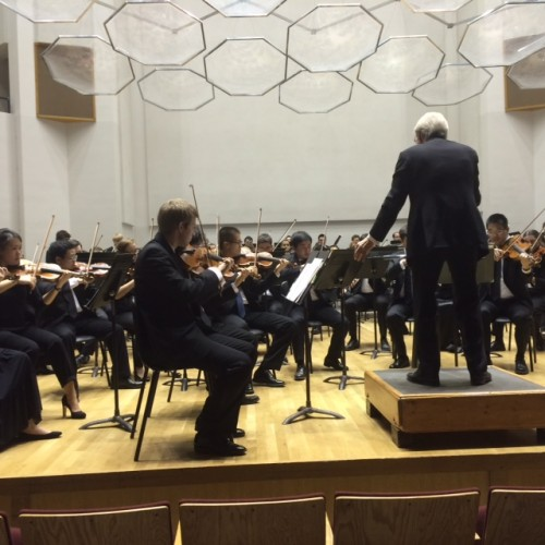 U of WI Symphony Orchestra playing Heinrich's masterpiece.
