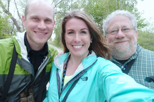 Benjamin, Jacqueline, and Blogger at Ottawa NWR.