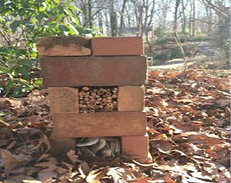 brick insect hotel